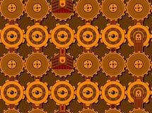 seamless cogwheelmodell Arkivbilder