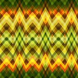 Seamless Color Abstract Retro Vector Background. Color Abstract Retro Vector Striped Background, Fashion Zigzag Seamless Pattern of Yellow and Green Stripes Royalty Free Stock Photo