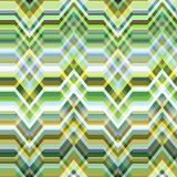 Seamless Color Abstract Retro Vector Background. Color Abstract Retro Vector Striped Background, Fashion Zigzag Seamless Pattern of Yellow, Blue and Green Royalty Free Stock Photography