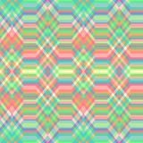 Seamless Color Abstract Retro Vector Background. Color Abstract Retro Vector Striped Background, Fashion Zigzag Seamless Pattern of Multicolored Stripes Stock Images