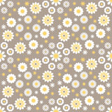 Seamless color decorative flower pattern Stock Photo