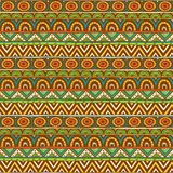 Seamless color ornament from geometric elements Royalty Free Stock Image