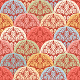Seamless color pattern Stock Photos