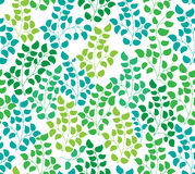 Seamless color pattern with leaf Royalty Free Stock Image
