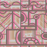 Seamless color  pattern Royalty Free Stock Photos