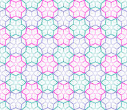 Seamless color pattern on white. Royalty Free Stock Photography