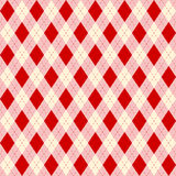 Seamless color rhombuses pattern. Stock Photo
