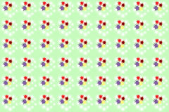 Seamless color splats pattern Royalty Free Stock Photography