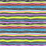 Seamless color stripes background Royalty Free Stock Images