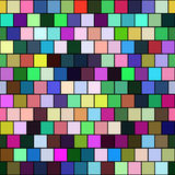 Seamless color tiles - checkered background Stock Photo