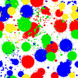 Seamless colored background with multi-colored blo Stock Images