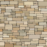 Seamless colored background wall of rectangular bricks. Royalty Free Stock Images