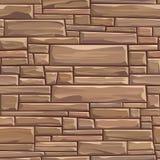 Seamless colored background wall of rectangular bricks. Stock Image