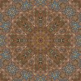Seamless colored metal arabesque 002 Royalty Free Stock Photo