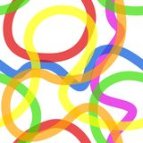 Seamless colored pattern. Colorful summer background Royalty Free Stock Photos
