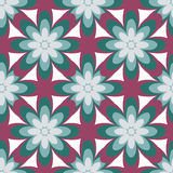 Seamless Colorful Abstract Flower Pattern from Ellipse Intersect Stock Photos