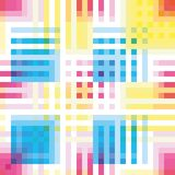 seamless colorful abstract geometric stripes pattern texture element vector illustration