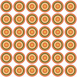 Seamless Colorful Abstract Modern Concentric Circles Texture. Background pattern Stock Photo