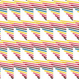 Seamless Colorful Abstract Modern Line Pattern Royalty Free Stock Images
