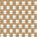 Seamless Colorful Abstract Modern Line Pattern Stock Photos