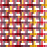 Seamless Colorful Abstract Modern Line Pattern Stock Images