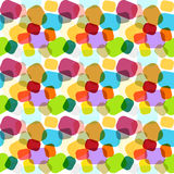 Seamless colorful abstract mosaic texture Royalty Free Stock Photos