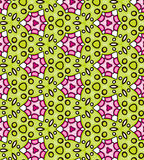 Seamless colorful abstract pattern background Royalty Free Stock Images