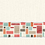 Seamless colorful abstract pattern Stock Image