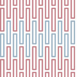 Seamless Colorful Abstract Pattern from Rectangles Royalty Free Stock Photography