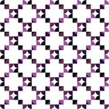 Seamless Colorful Abstract Pattern from Repetitive Concentric Ar Royalty Free Stock Photography
