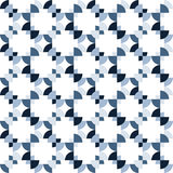 Seamless Colorful Abstract Pattern from Repetitive Concentric Ar Stock Photo