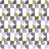 Seamless Colorful Abstract Pattern from Repetitive Concentric Ar Stock Images