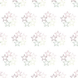 Seamless Colorful Abstract Pattern from Repetitive Concentric St Stock Images
