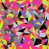 Seamless colorful abstract retro background Stock Photos