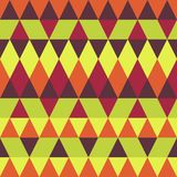 Seamless colorful abstract triangles pattern. vector illustration