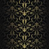 Seamless colorful arabesque background Royalty Free Stock Photos