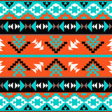 Seamless Colorful Aztec Pattern Royalty Free Stock Photo