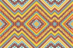 Seamless colorful aztec pattern. Seamless bright colorful aztec pattern Stock Image