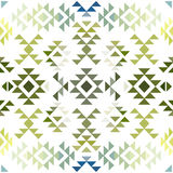 Seamless colorful aztec pattern. Vector illustration Stock Image