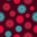 Seamless Colorful Background Stock Photography