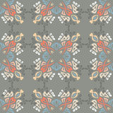 Seamless colorful background made of exotic pattern Royalty Free Stock Photo