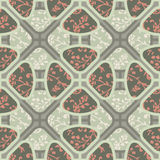 Seamless colorful background made of oriental floral pattern Stock Photos