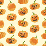 Seamless colorful background made of pumpkin Royalty Free Stock Photography