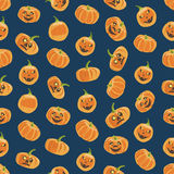 Seamless colorful background made of pumpkin Royalty Free Stock Photo