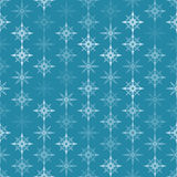 Seamless colorful background made of snowflakes Royalty Free Stock Photo