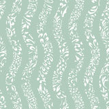 Seamless colorful background with wavy lines filled with ornate. Pattern, illustration Royalty Free Stock Photos