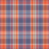 Seamless colorful check texture. Stock Images