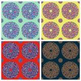 Seamless colorful circle pattern Royalty Free Stock Image