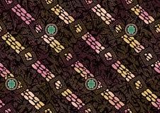 Seamless colorful dot pattern background. Seamless colorful dot pattern color background stock illustration