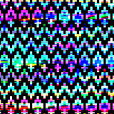 Seamless colorful ethnic pattern Royalty Free Stock Photo